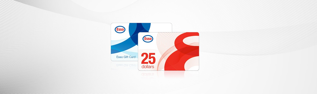 Gas gift cards buy and give gasoline cards esso esso gift cards reheart Gallery