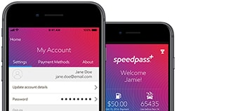 Manage personal and business accounts esso speedpass plus app on multiple screens reheart Gallery